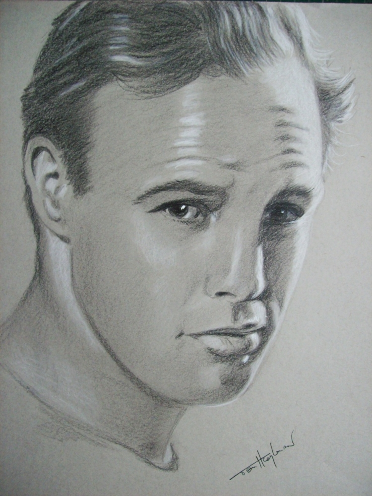 Marlon Brando by Tom-Heyburn